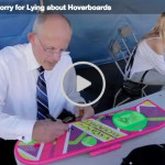 Doc Brown admits Hoverboard video is a hox