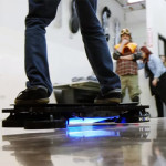 Tony Hawk Rides World's First Real Hoverboard